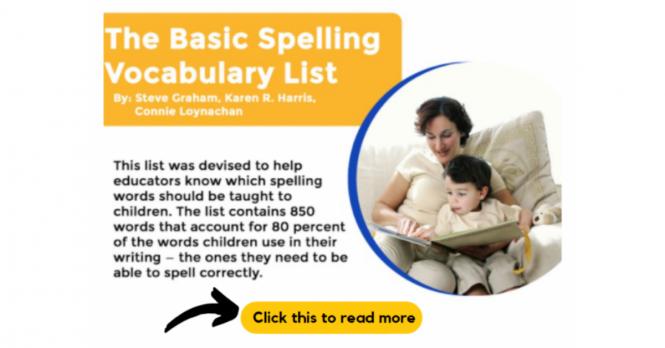 Spelling Tutoring